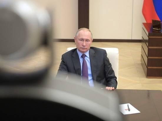 Путин выступил против тотального закрытия предприятий из-за коронавируса