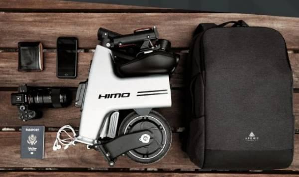 Крошечный электробайк HiMo с легкостью перевезет вас на 30 километров