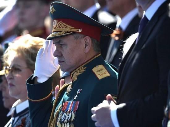 Шойгу раскрыл особенности парада Победы 24 июня