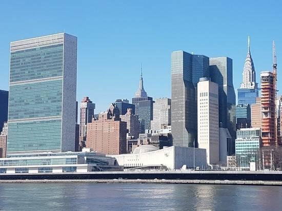 Протестующие попросили ООН осудить действия США