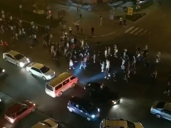 В Хабаровске начали задерживать участников митинга за Фургала