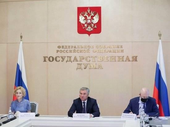 Госдума приняла закон о признании отчуждения территорий РФ экстремизмом