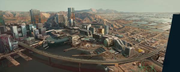 """Разрушенный рай, куда боится попасть полиция: Разработчики Cyberpunk 2077 знакомят игроков с районом """"Пацифика"""""""