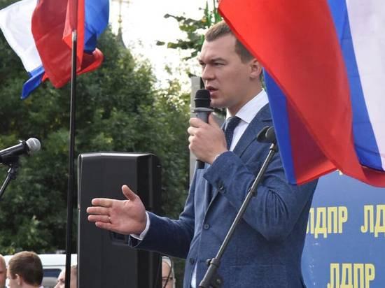 """Дегтярев рассказал о планах """"проситься"""" к Путину с докладом"""