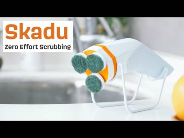 Электрощетка Skadu уничтожит всю грязь в вашем доме