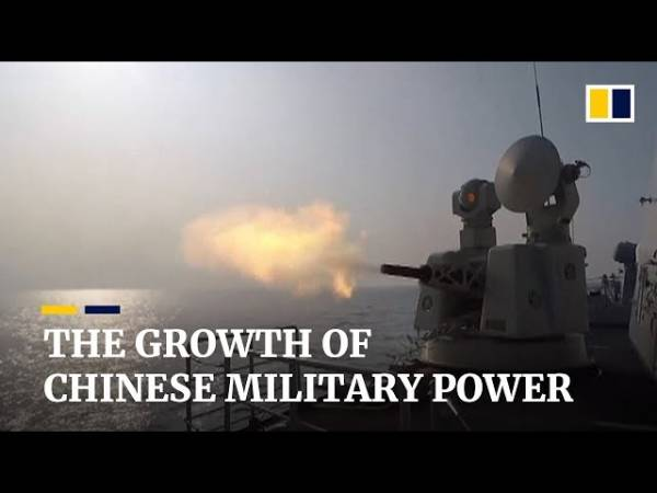 Китай устанавливает на корабли турбогенераторы для питания лазеров и рельсовых пушек