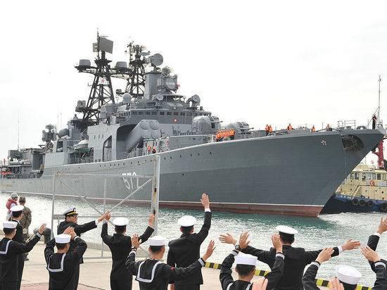 Корабли ТОФ покинули Владивосток и отправились в дальний поход