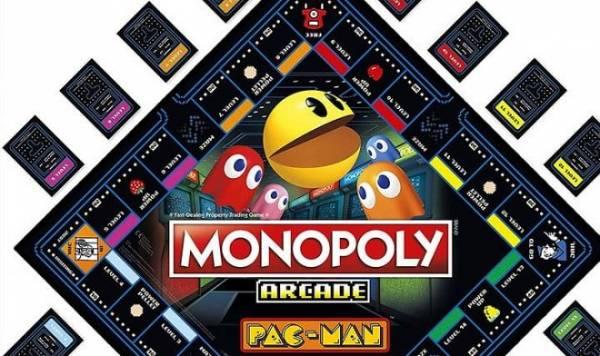 Сегодня выходит специальная версия Монополии, посвященная сорокалетию игры Pac-Man