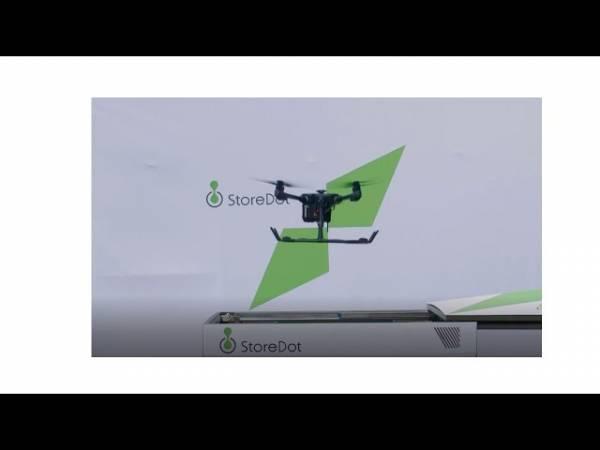 Технология FlashBattery зарядит батарею дрона за 5 минут