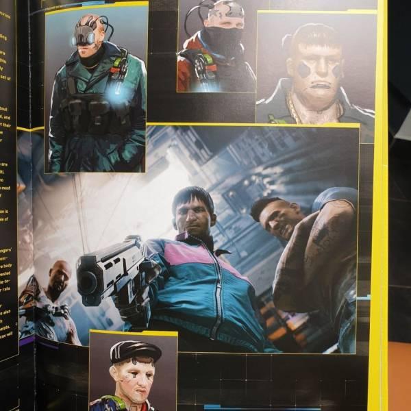 Кибергопники: Артбук Cyberpunk 2077 раскрыл информацию об одной из самых крупных банд Найт-Сити
