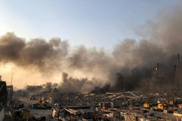 Путин направил соболезнования президенту Ливана из-за взрыва в Бейруте