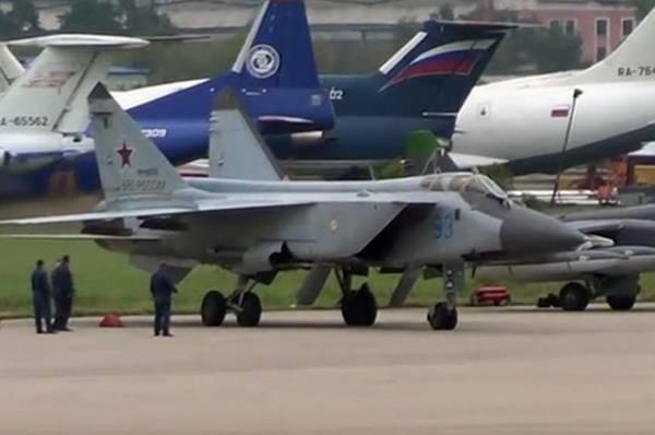 Российский МиГ-31 перехватил норвежский самолет над Баренцевым морем