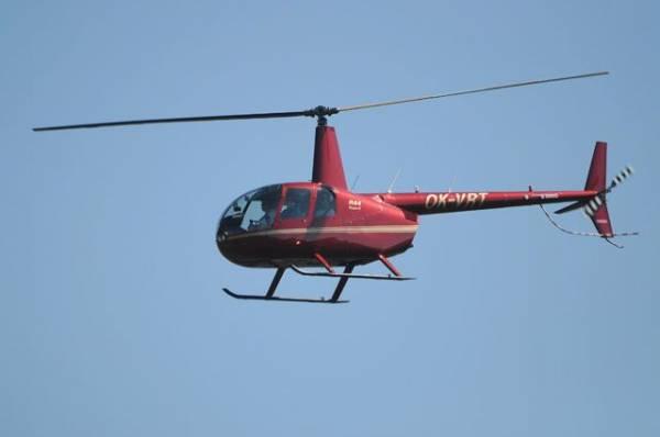 Вертолёт Robinson совершил жёсткую посадку в Республике Алтай