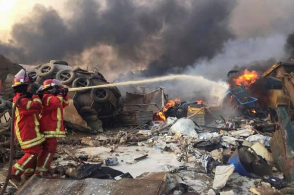 Бейрут объявлен районом стихийного бедствия