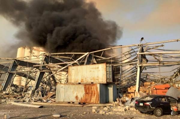 Число жертв взрыва в порту Бейрута выросло до 78 человек