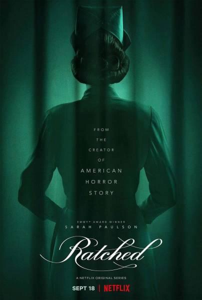 """Сара Полсон в роли медсестры в первом трейлере сериала """"Сестра Рэтчед"""" от Netflix и автора """"Американской истории ужасов"""""""
