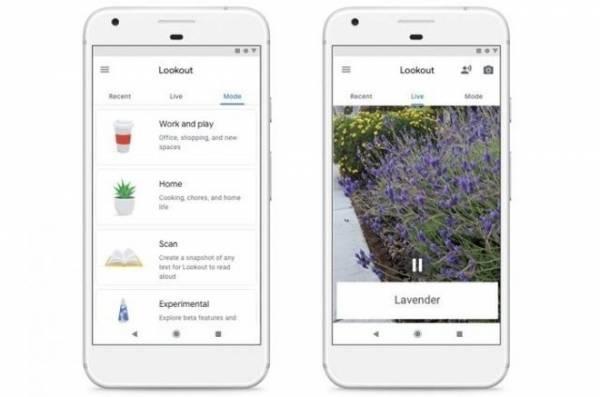 Приложение Google Lookout поможет слепым людям распознавать продукты и читать документы