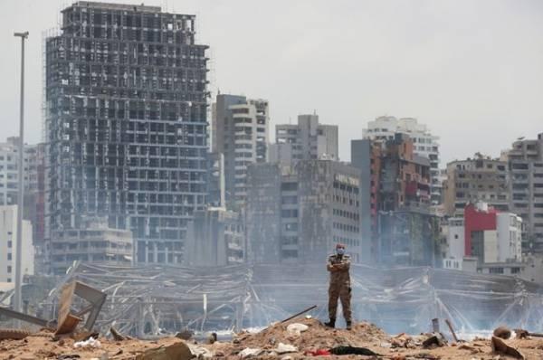 Российские спасатели нашли тела ещё двух жертв взрыва в Бейруте