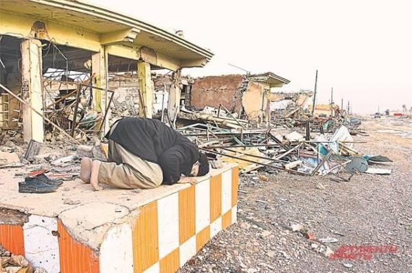 Ракета разорвалась в районе «зеленой зоны» Багдада