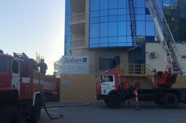 В Ростове-на-Дону произошёл пожар в гостинице