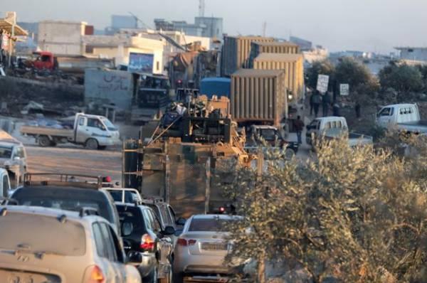В городе Рас-эль-Айн в Сирии произошел взрыв
