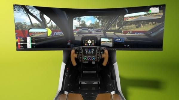 Aston Martin выпустил роскошный гоночный симулятор-люкс AMR-C01