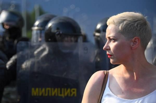 СК предъявил Колесниковой обвинение в публичных призывах к захвату власти