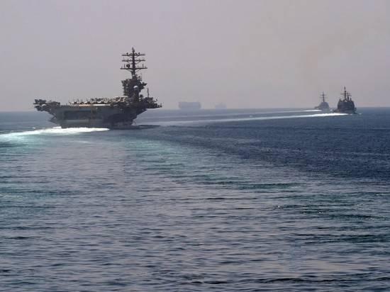 Атомный авианосец США впервые с начала года вошел в Персидский залив