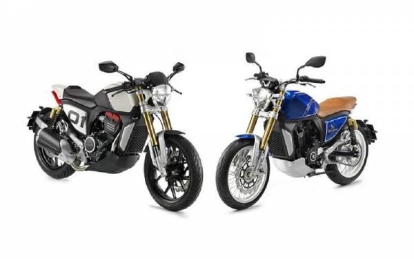 Peugeot запускает линейку мотоциклов
