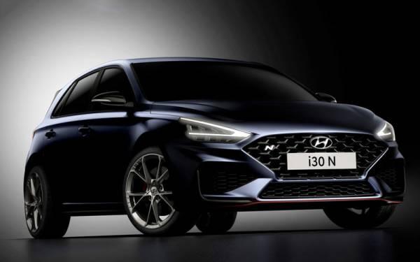 Первые изображения обновленного Hyundai i30 N