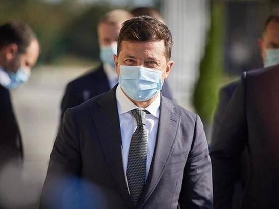 Зеленский назвал виновных в росте случаев коронавируса на Украине