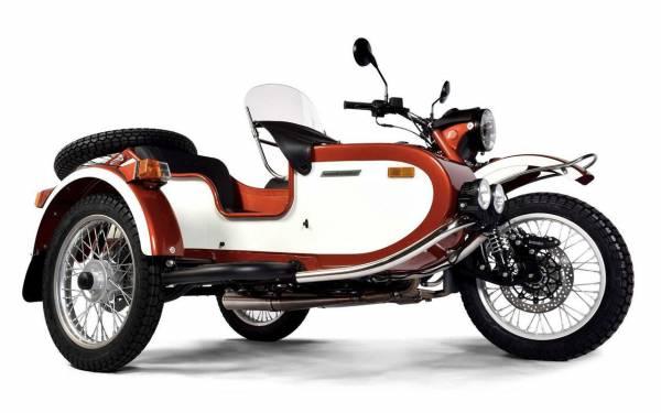 Новый мотоцикл Урал - специально для выходных