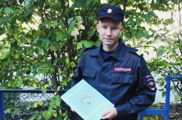 В Приморье полицейский спас из огня бездомного