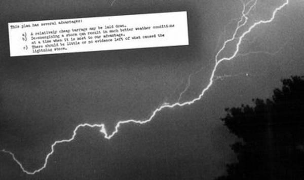 История о том, как ЦРУ собиралось превратить молнию в смертельное оружие