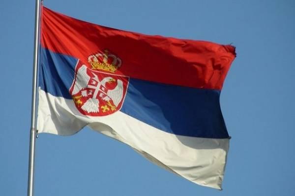 МиГ-21 упал на западе Сербии