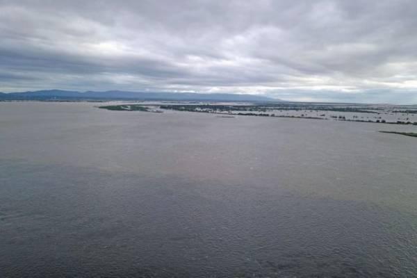 Уровень воды в реке Амур у Комсомольска-на-Амуре достиг 677 см