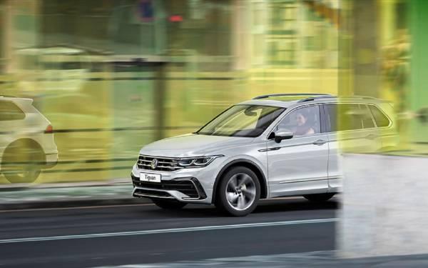 Обновленный VW Tiguan: известны комплектации