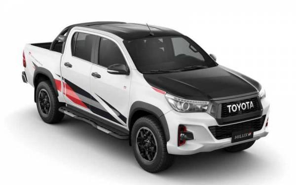 Toyota готовит новый Hilux — помощнее
