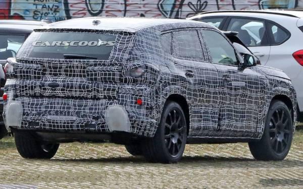 Новый BMW X8: первые кадры с испытаний