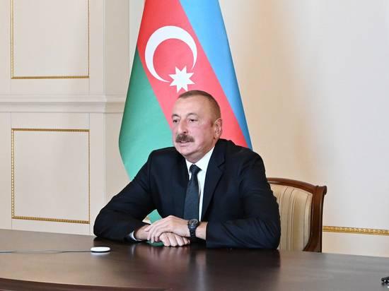 Алиев заявил о бесполезности переговоров с Арменией