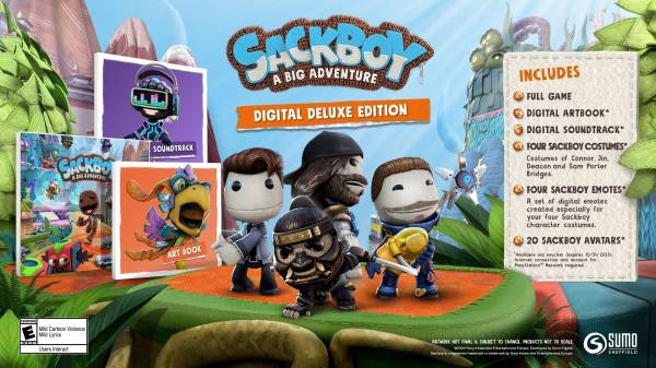 Большое приключение эксклюзивно на PS4 и PS5: Открылись предварительные заказы на Sackboy: A Big Adventure