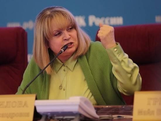 Памфилова призвала избирком Петербурга подать в отставку