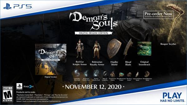 Ремейк Demon's Souls красиво выглядит на новых скриншотах - для игры анонсировано расширенное издание за 6899 рублей