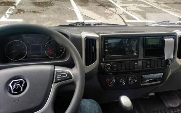 Первое фото салона грузовика ГАЗ Валдай Next
