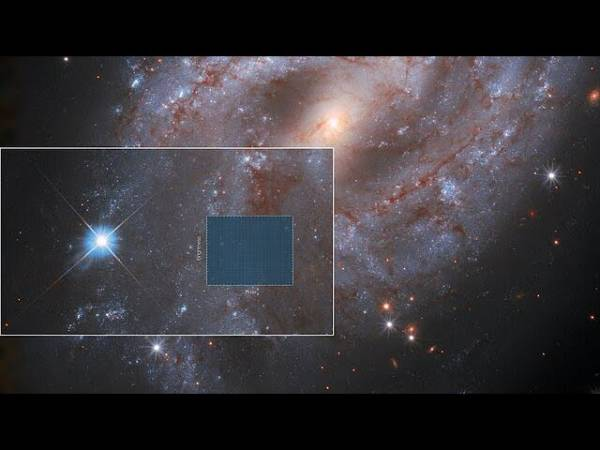 Таймлапс с телескопа Хаббл показывает драматическое превращение звезды в сверхновую