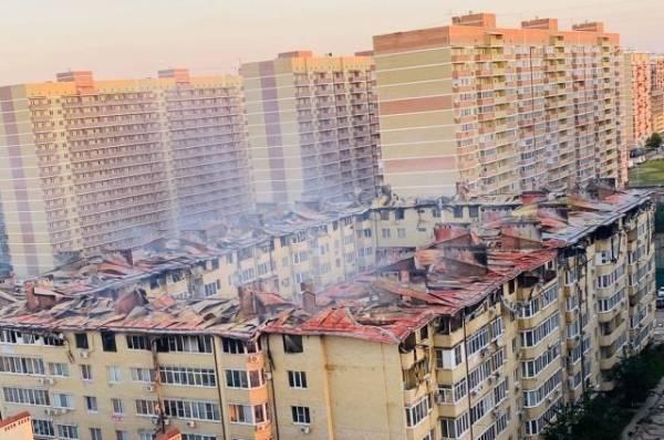 В Москве ликвидирован пожар в гостинице