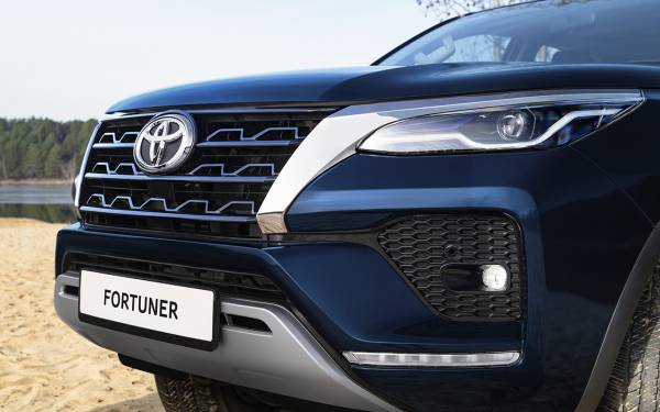 Toyota Fortuner с дизельным мотором: старт продаж