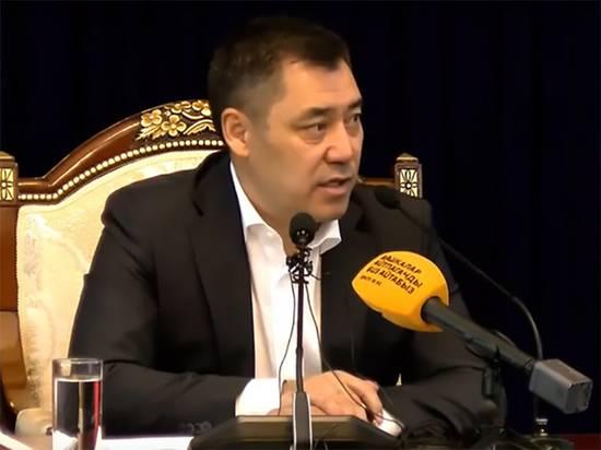 И.о. президента Киргизии Жапаров анонсировал обращение к народу