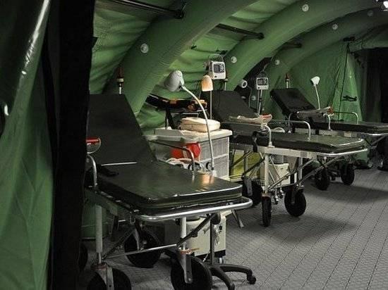 Россия направила в Абхазию мобильный госпиталь для борьбы с коронавирусом