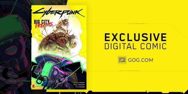 Покупателям Cyberpunk 2077 в магазине GOG приготовили приятный бонус